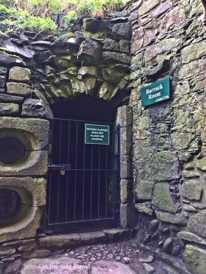 cancello, muro, castello