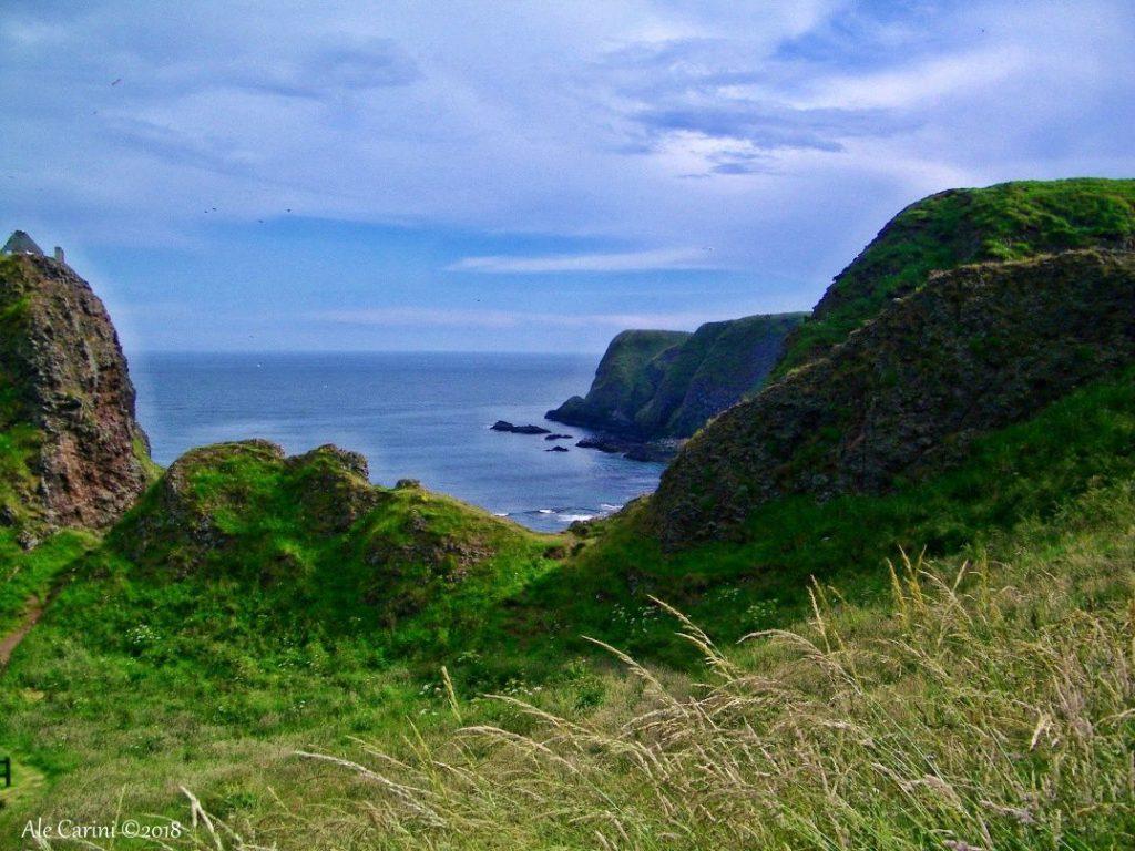 dunnottar castle stonehaven - aberdeenshire scozia