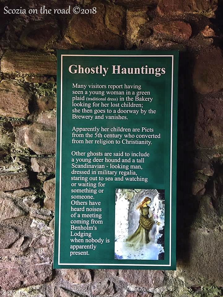 dunnottar ghostly hauntings