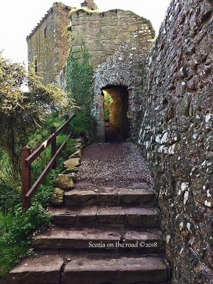 visitare dunnottar castle scozia