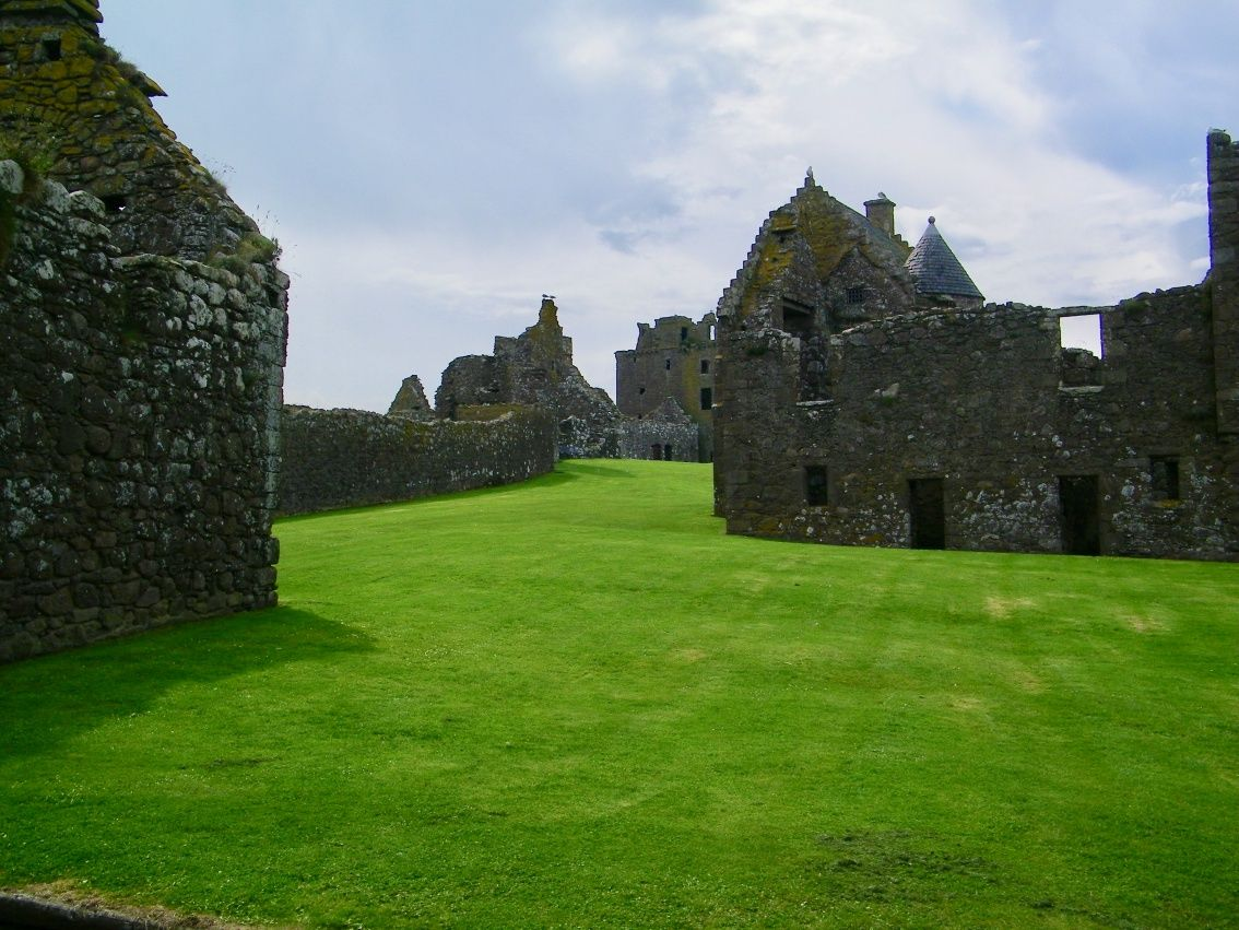 dunnottar, cortile interno