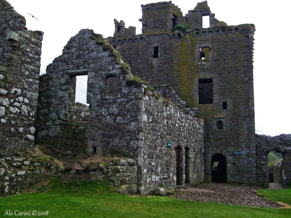 dunnottar castle, edifici, prato