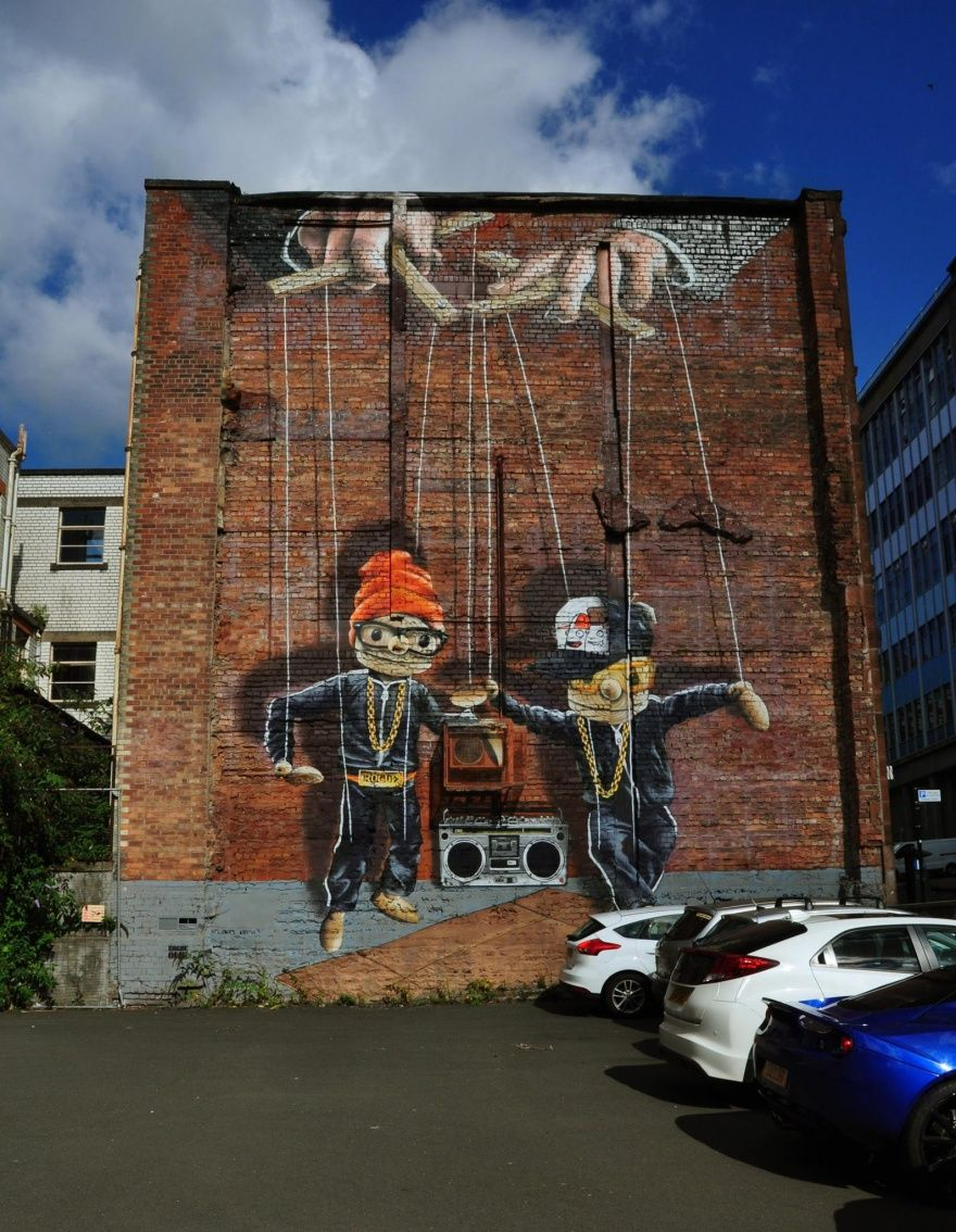 glasgow mural trail