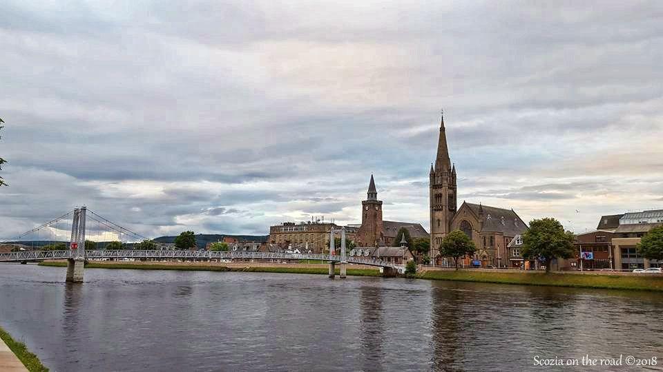 inverness, river ness, ponte