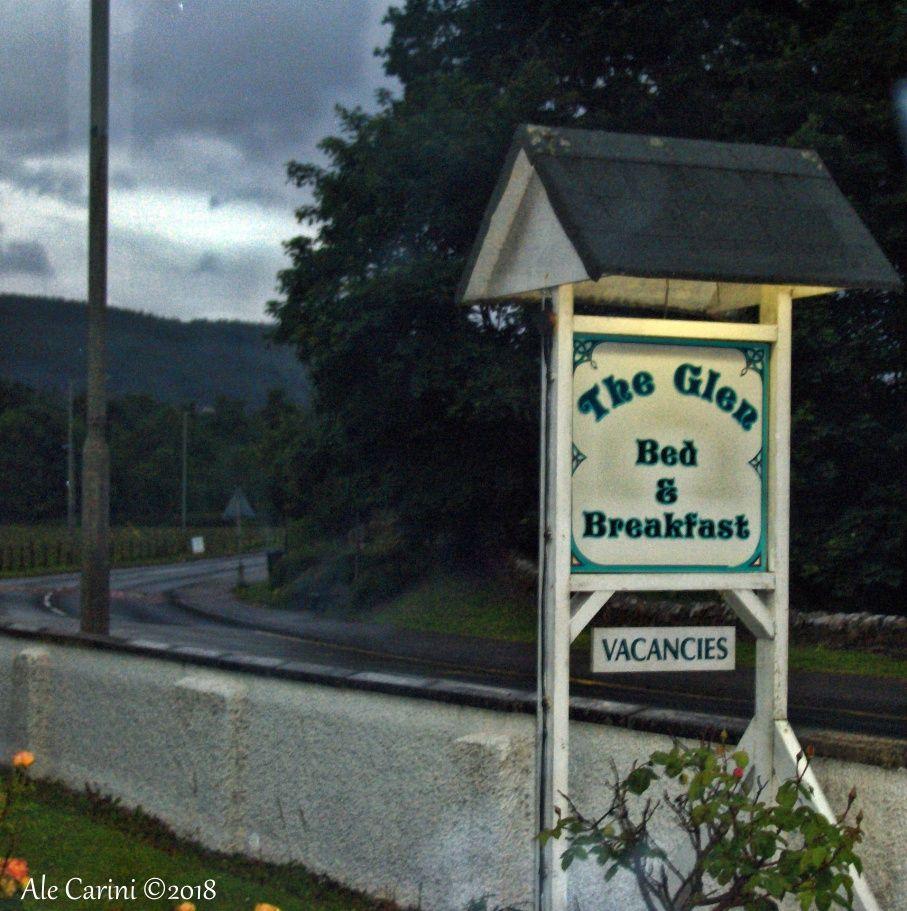 the glen vicino Loch ness