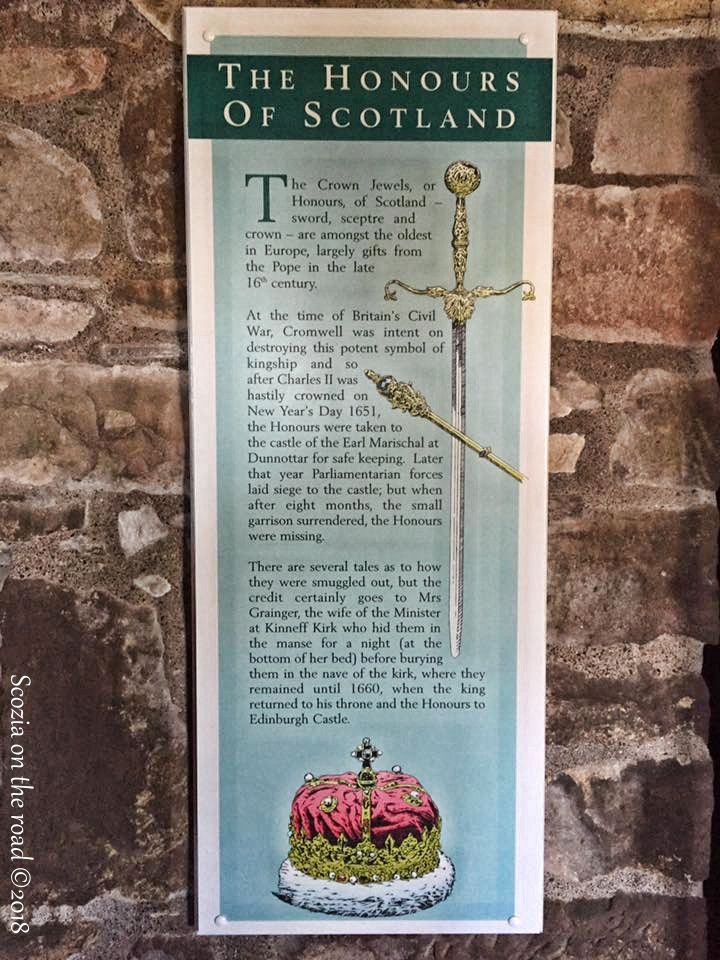 the honor of scotland -