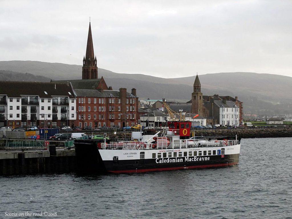 traghetti scozia
