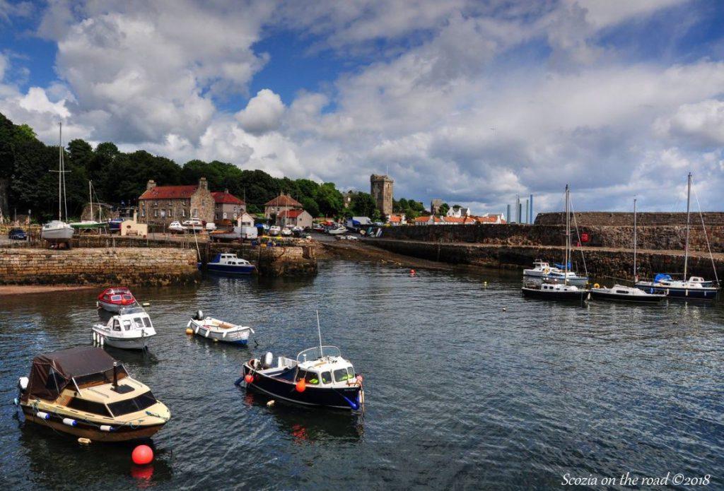 porto di dysart, Locations di Outlander nei dintorni di Edimburgo