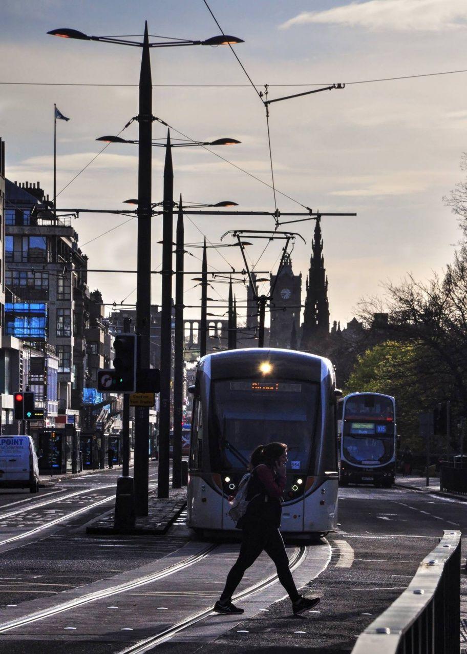 Spostarsi in autobus ad Edimburgo