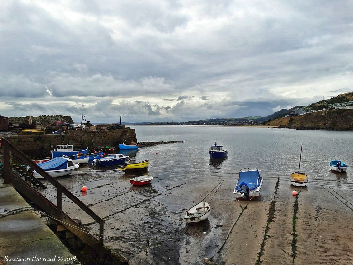 Da North Queensferry a Kinghorn- kinghorn scozia - fife coastal path