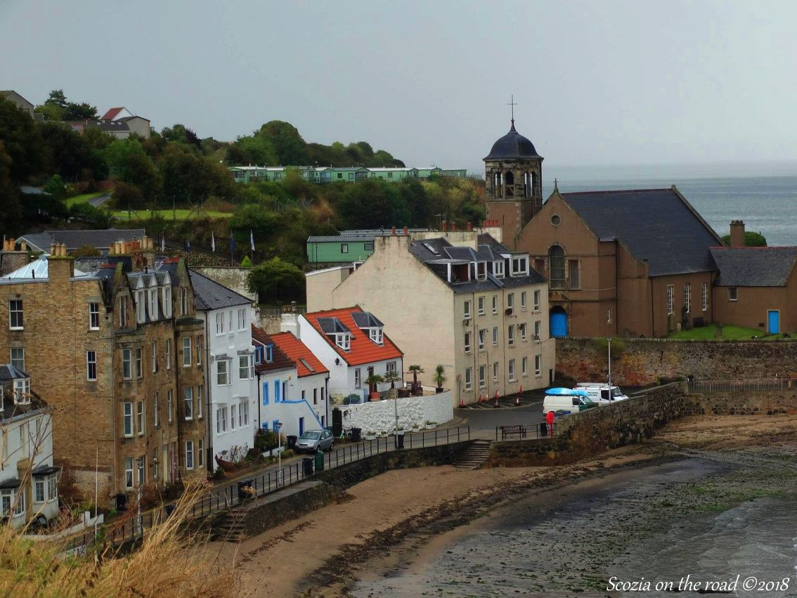 Da North Queensferry a Kinghorn - pettycur scozia