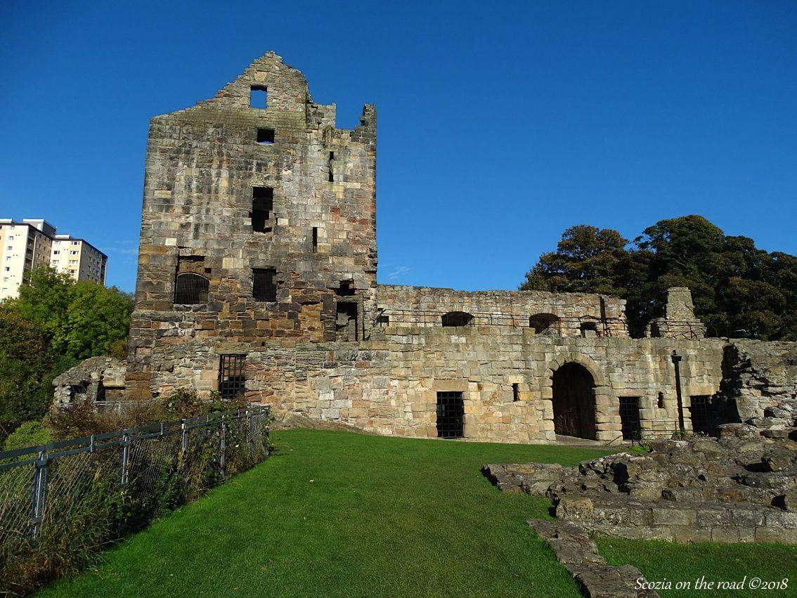 Da Kinghorn a Leven - ravenscraig castle