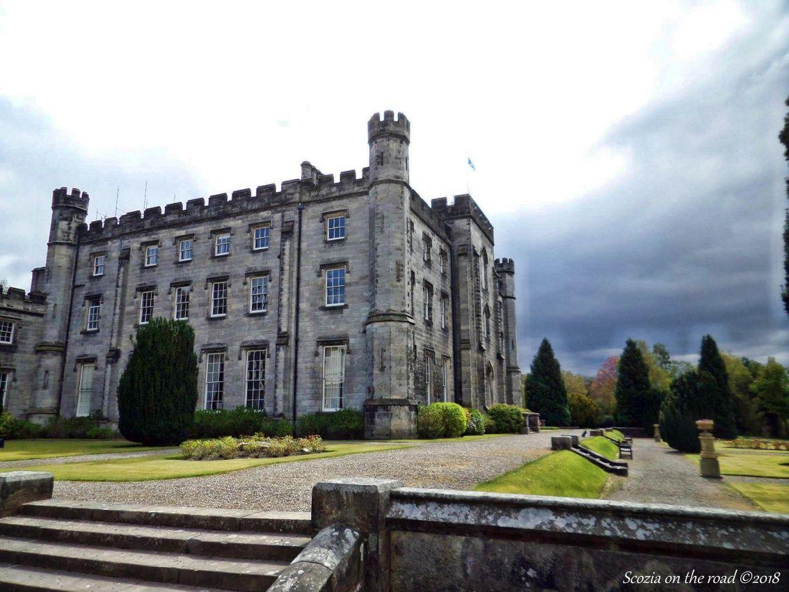 Tulliallan Castle, scozia, castello