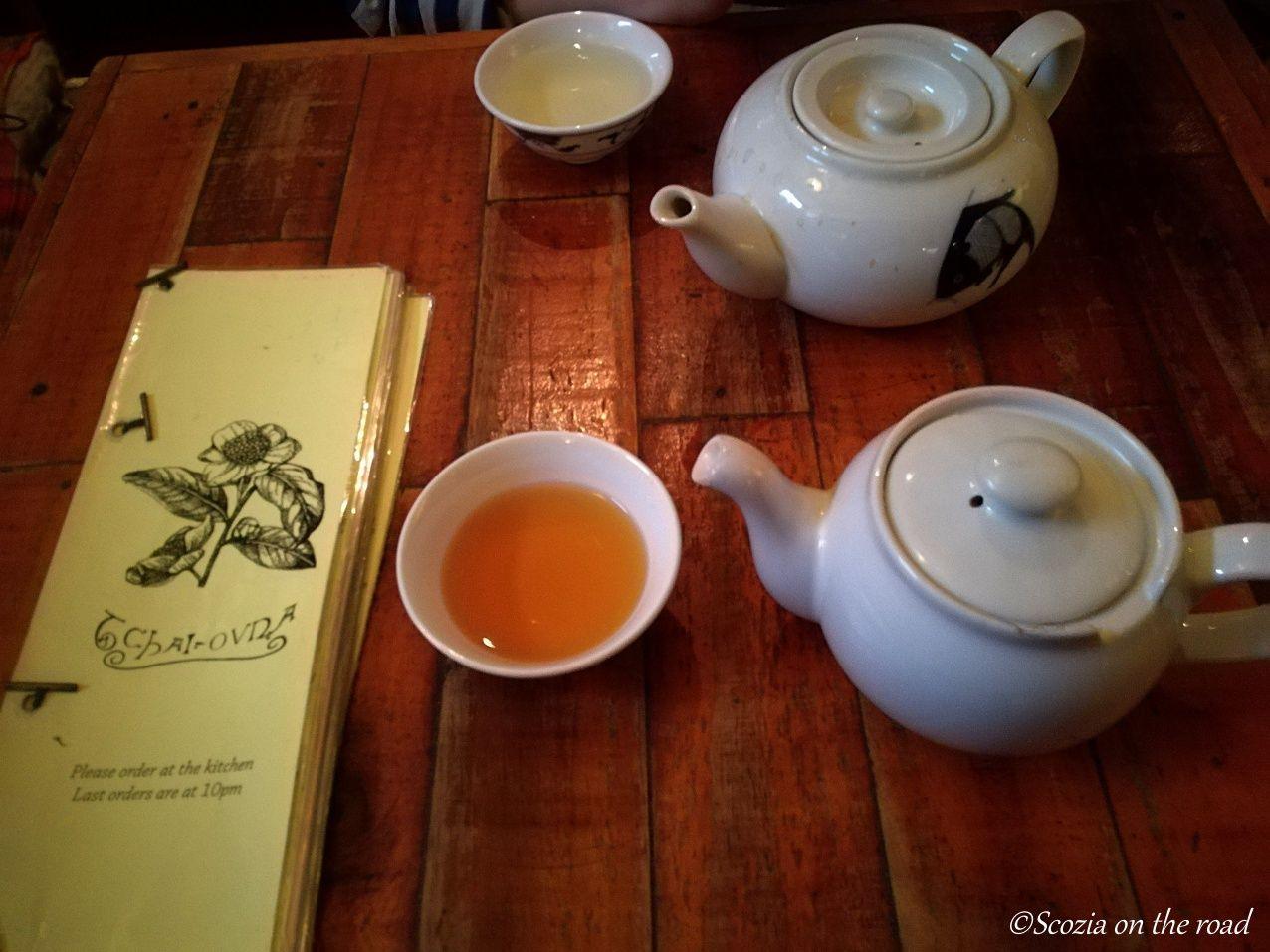 glasgow negozio di tea