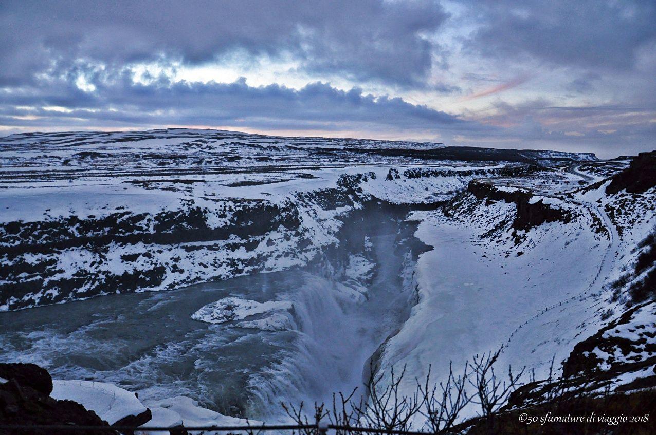 islanda cascata d'oro Gullfoss