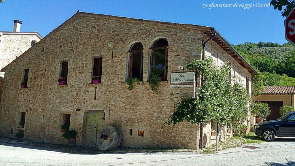 casa colonica, macina in pietra