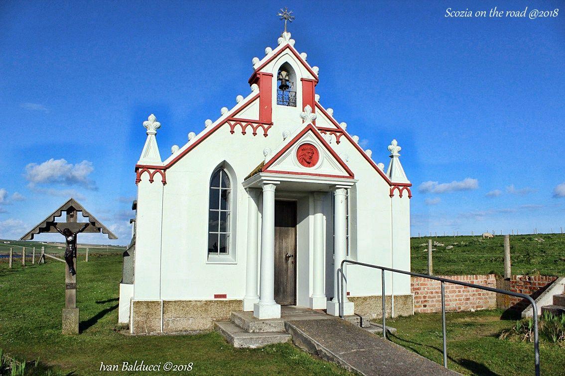 cappella, crocefisso, Orcadi