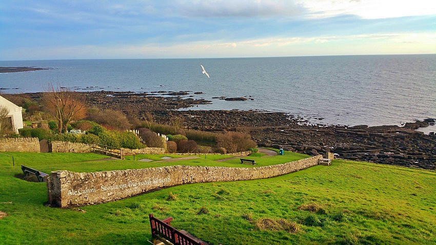 crail, Fife coastal path
