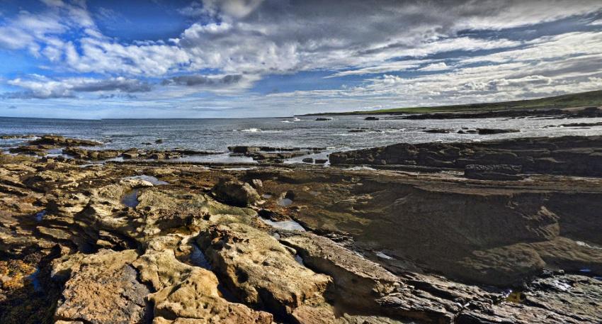 spiaggia di kingsbarn - da Crail a St Andrews - fife coastal path