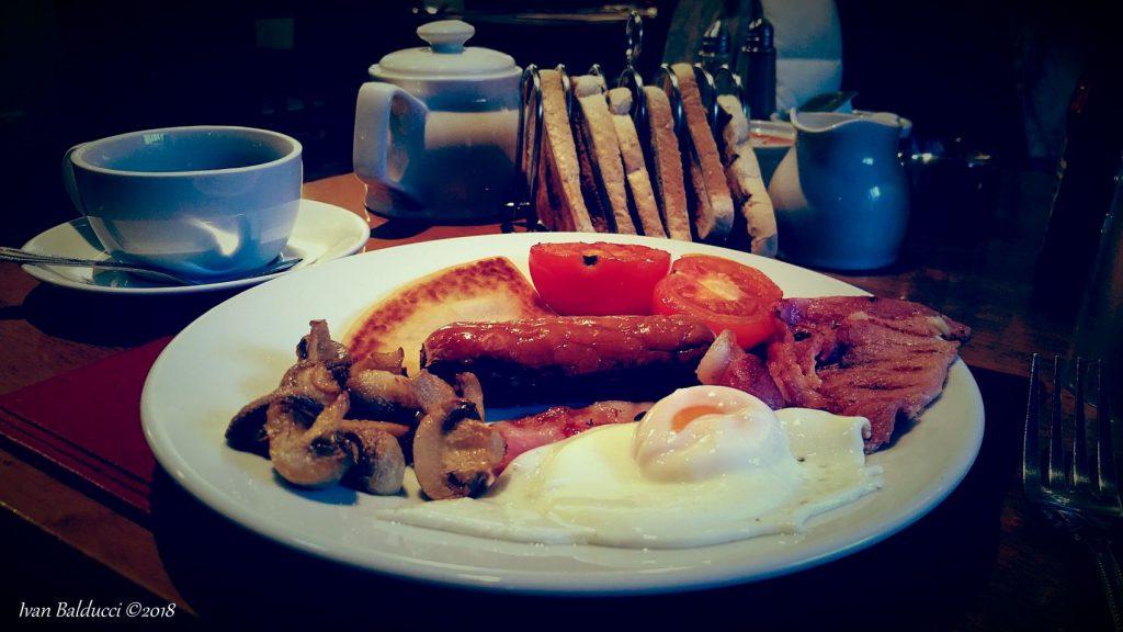 colazione al the bruce inn