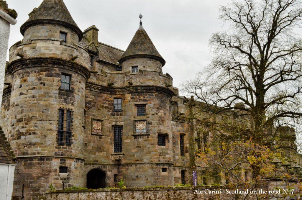 falkland, fife, scotland, palazzo reale