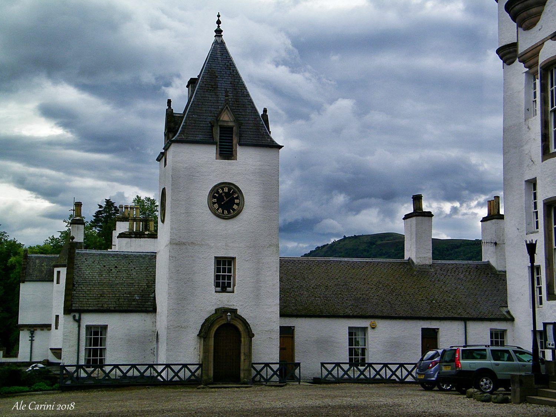 torre dell'orologio, blair castle