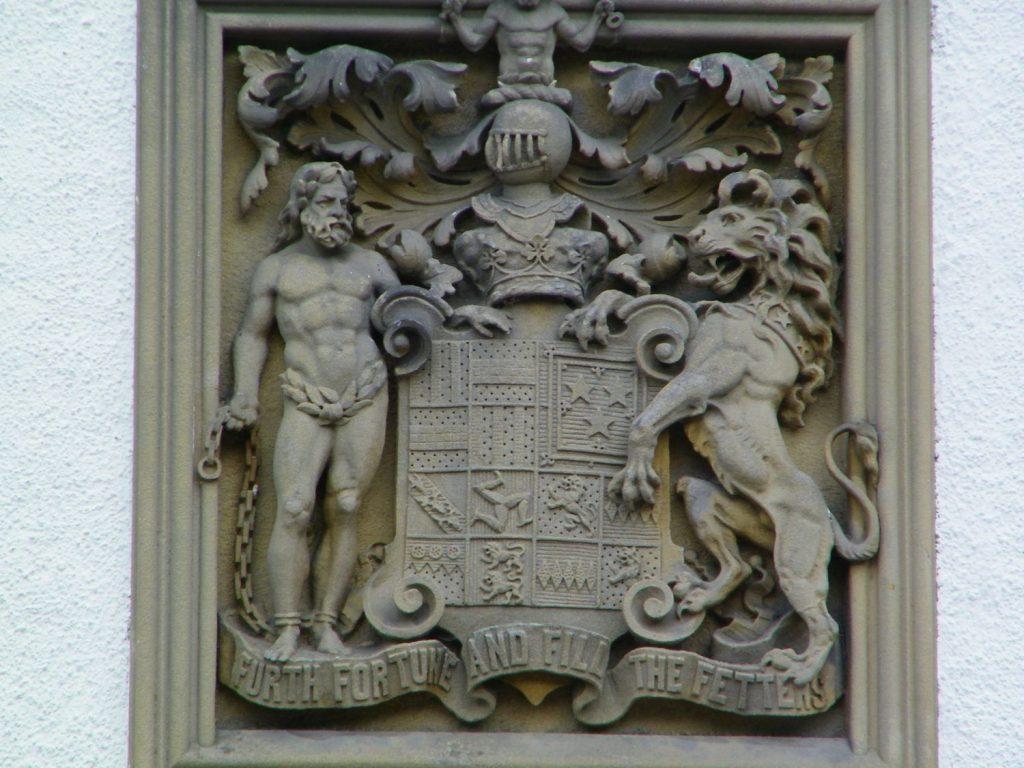 stemma del castello di Blair