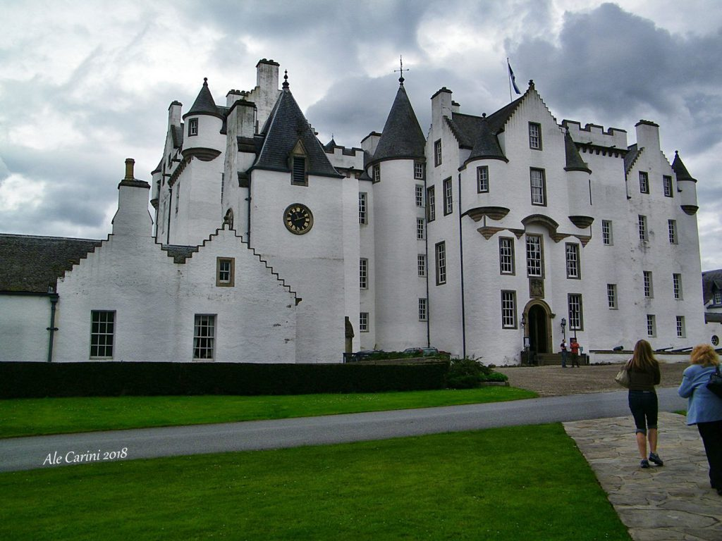 blair castle - castelli in scozia