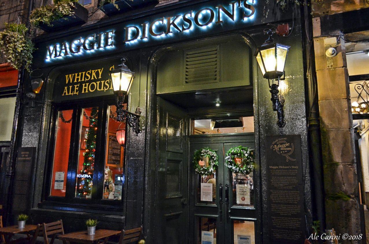 Mangiare a Edimburgo: maggie dickson's