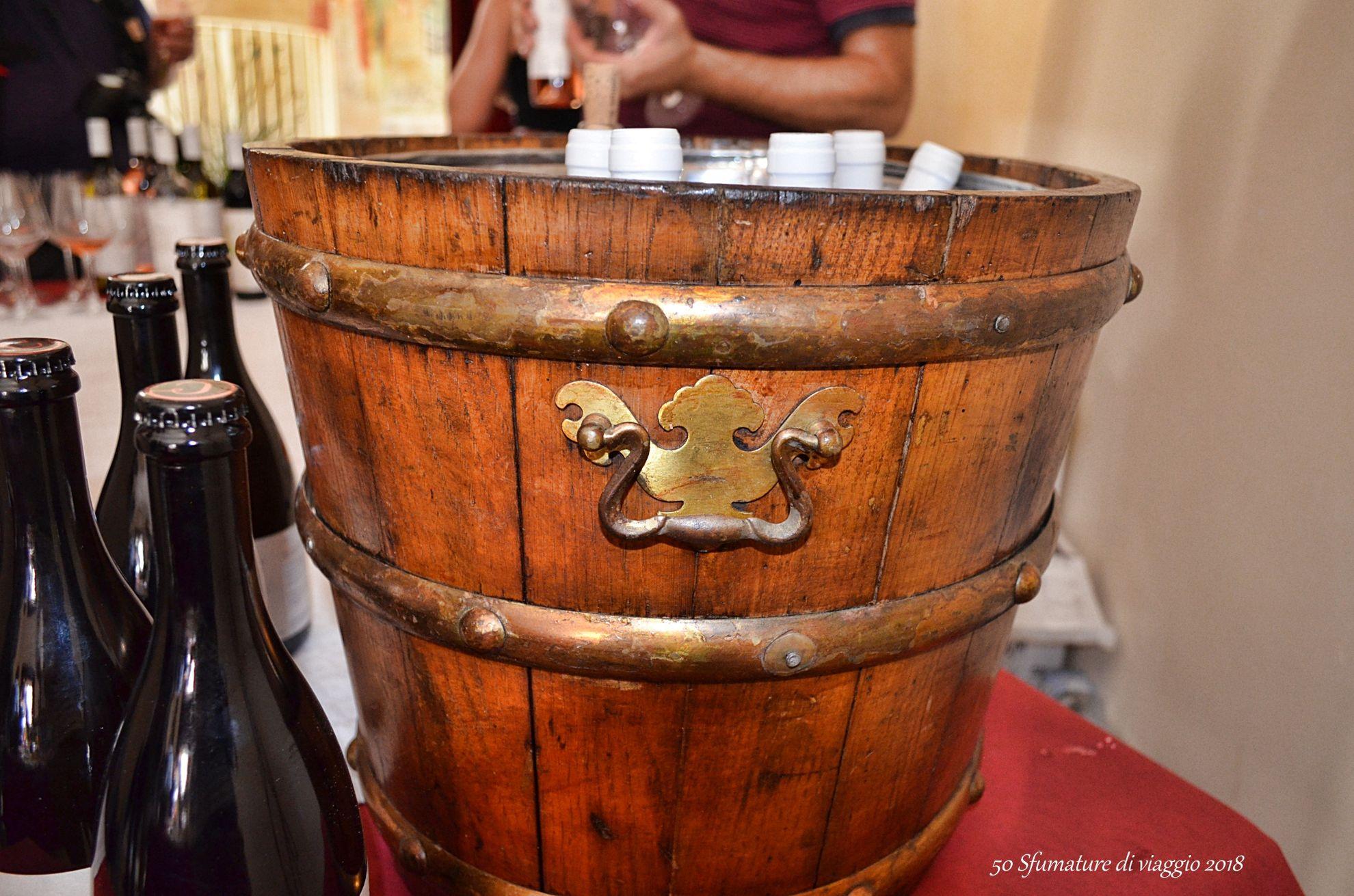 cesto porta vino