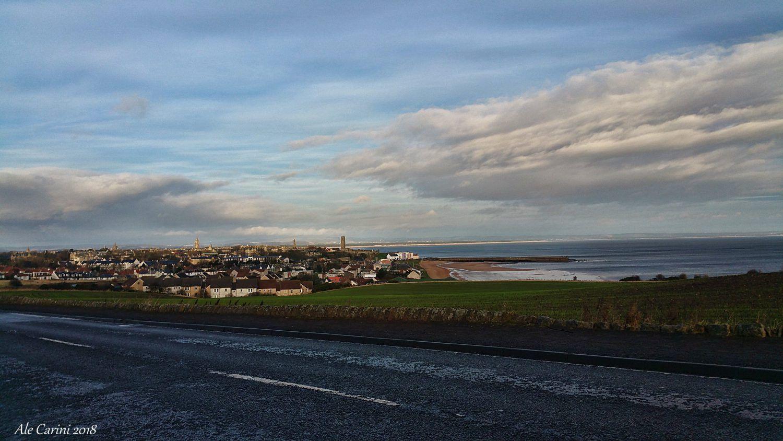 St Andrews, fife, scozia, panorama