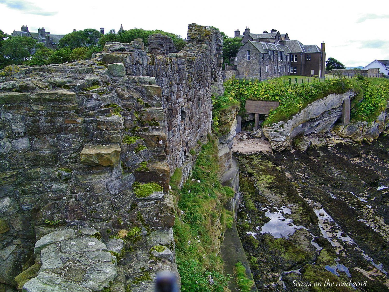 saint andrews castle, fife, scozia
