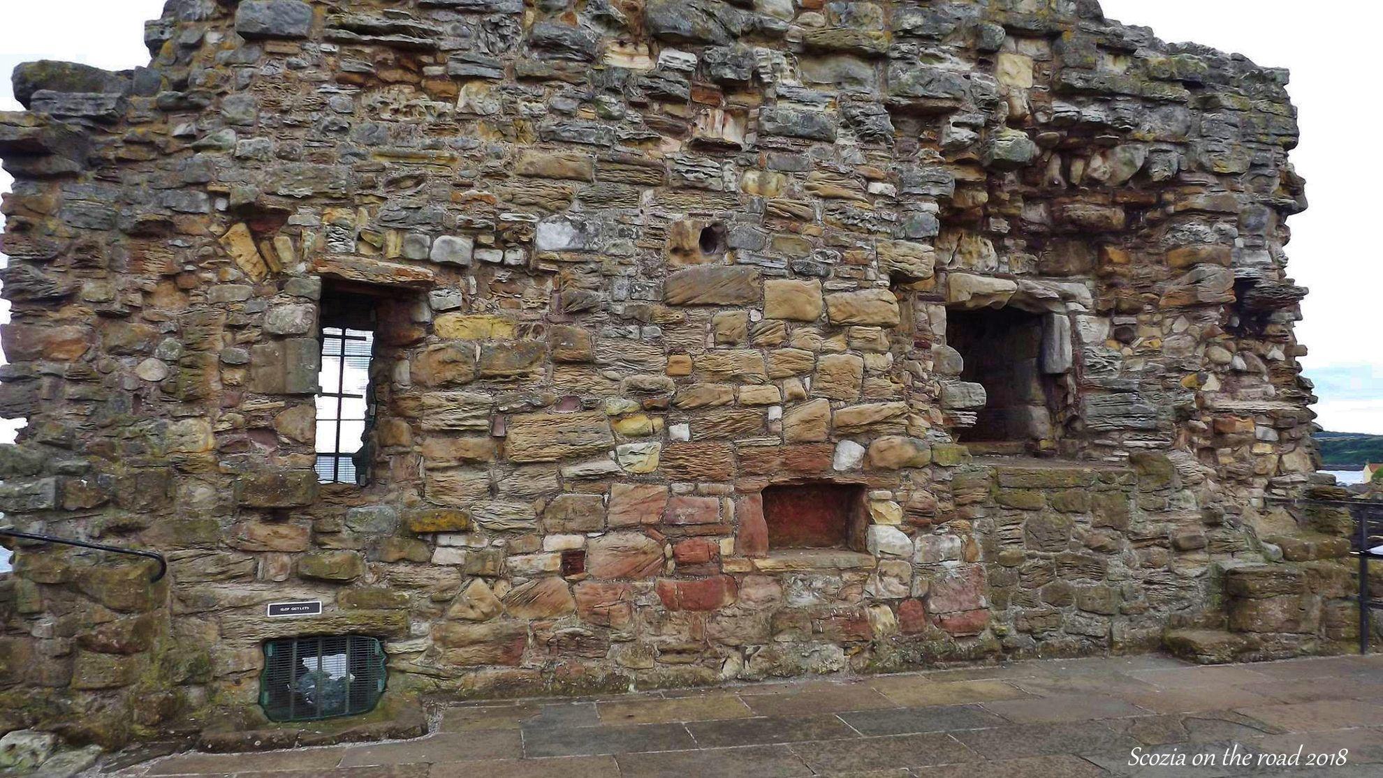 castello di saint andrews - castelli in scozia