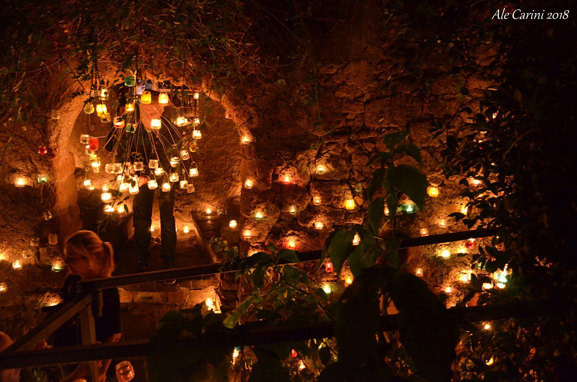candele illuminate