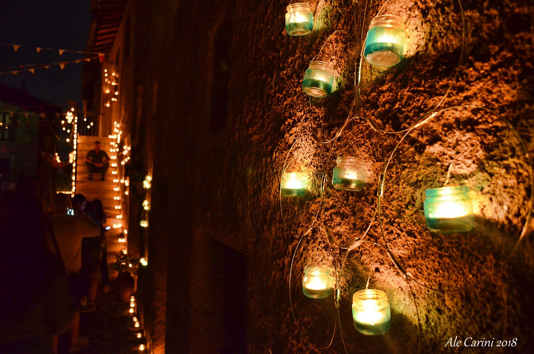 vallerano, candele