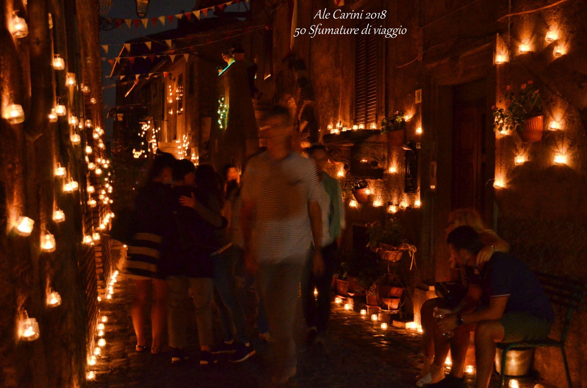 La Notte delle Candele a Vallerano