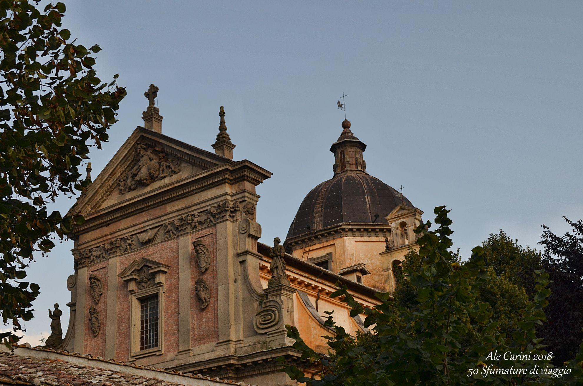 chiesa dalle madonna del ruscello, vallerano, viterbo, lazio