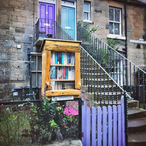 edimburgo free little library