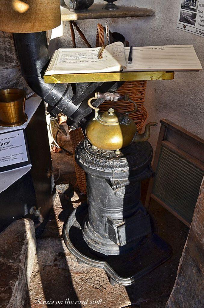 lampada ad olio di un faro