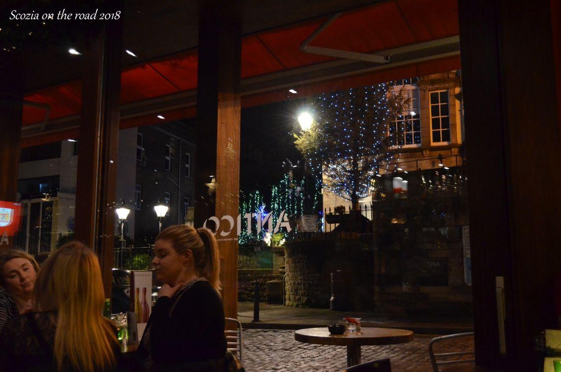 vetrata di ristorante