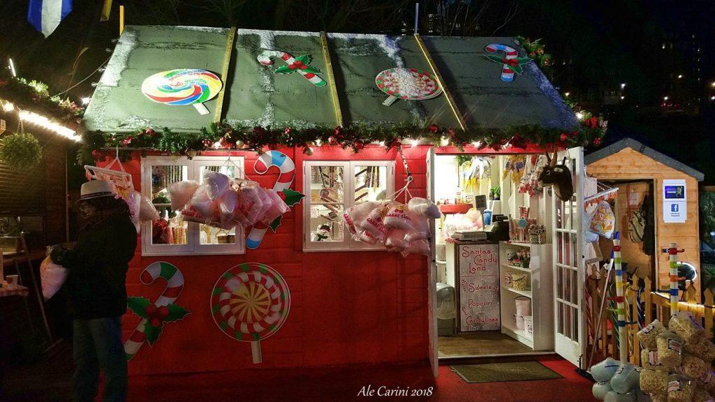 edimburgo mercatini di natale - Scozia a Natale