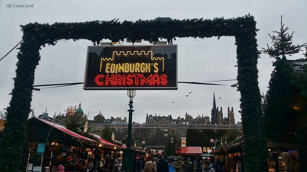 Scozia a Natale - mercatini di natale di edimburgo