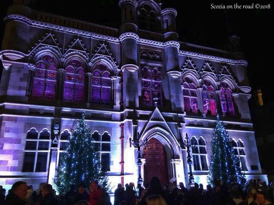 Il Natale nelle altre città della Scozia, natale a Inverness