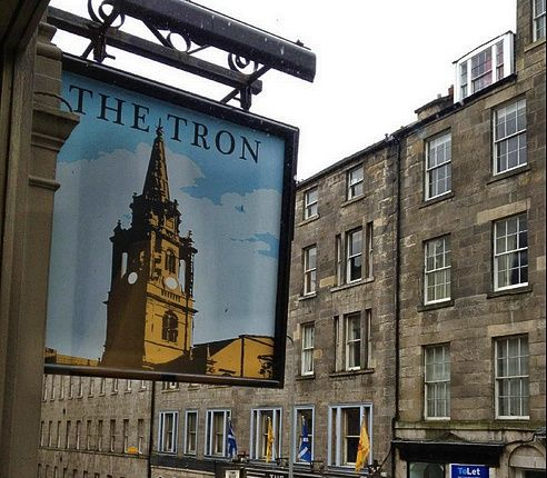 Mangiare a Edimburgo: the tron