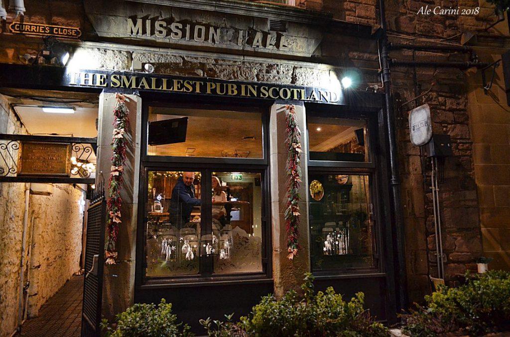 the wee pub - dove mangiare a edimburgo