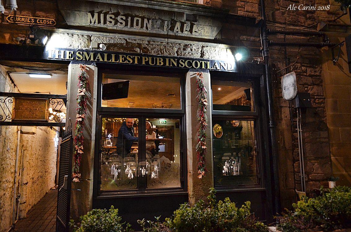 the wee pub a edimburgo
