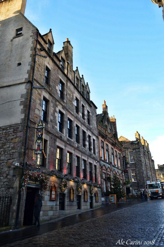 edimburgo hotel, the witchery