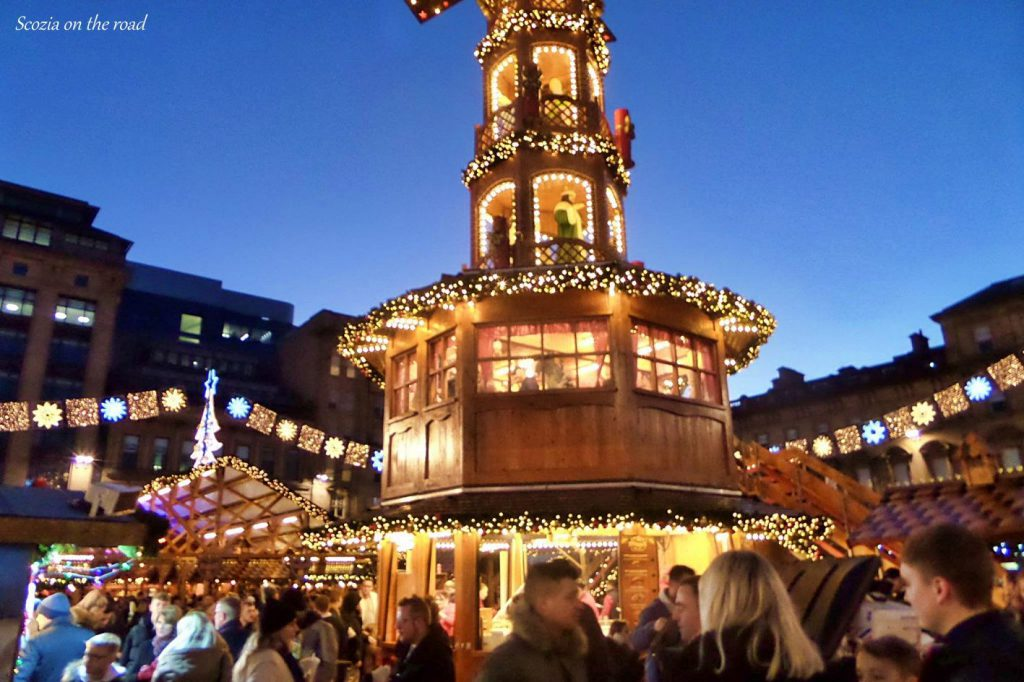 Glasgow mercatini di natale - Scozia a Natale