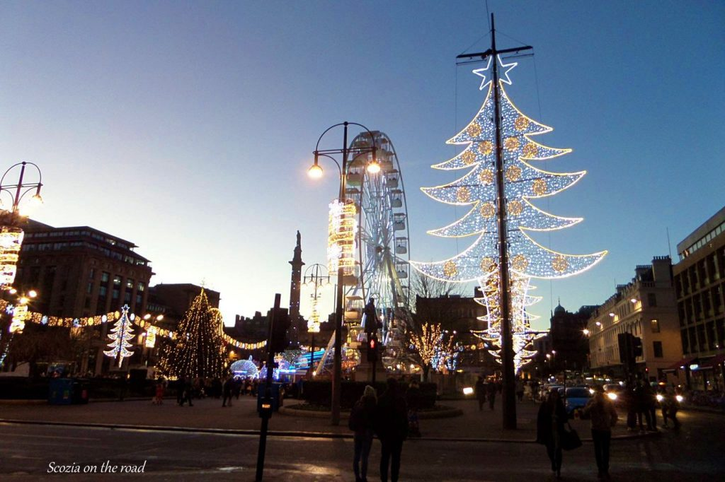 Edimburgo e Glasgow mercatini di natale - Scozia a Natale