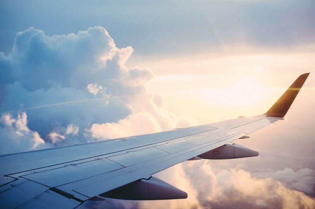 volare, aereo